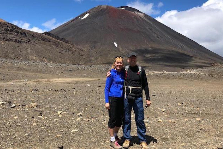 """Bei der Wanderung """"Tongariro Crossing"""" im Tongariro Nationalpark"""