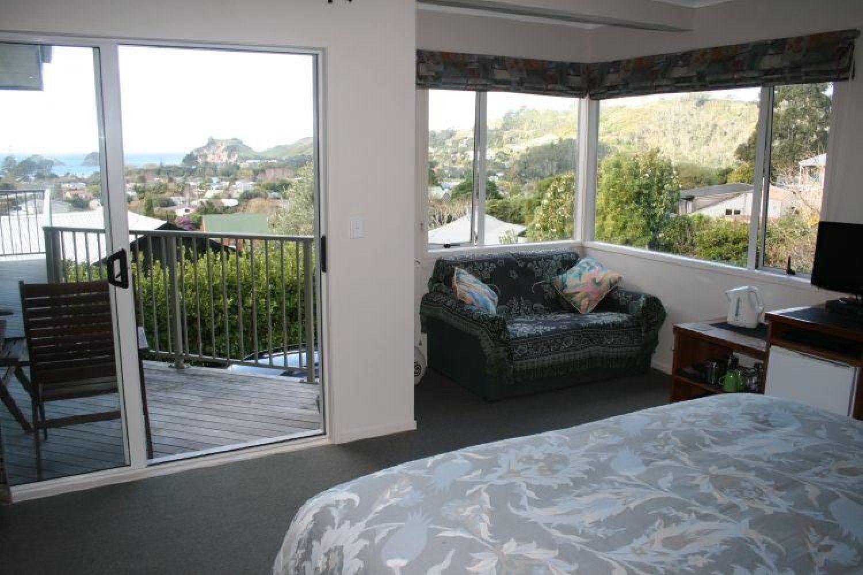 Hahei Horizon Bed and Breakfast - Zimmer mit Ausblick