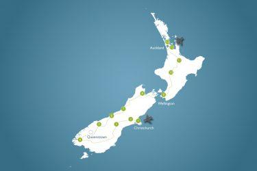 4 Wochen Neuseeland mit 4 Personen