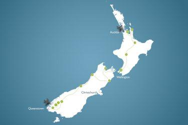 Neuseeland Rundreise 4 Wochen zu zweit - Reiseverlauf