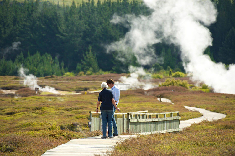geothermisches Zentrum Rotorua