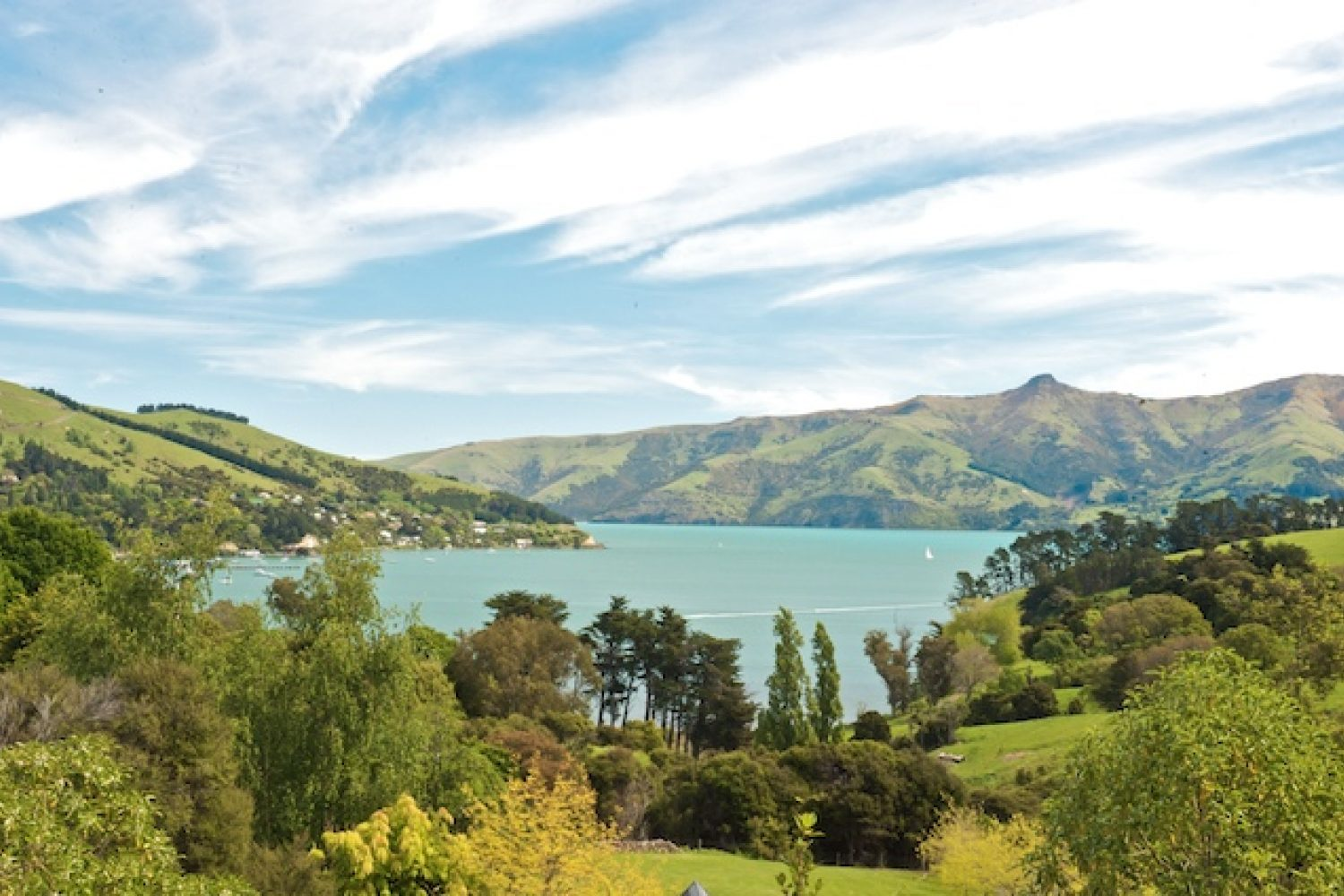 Akaroa Cottages Umgebung