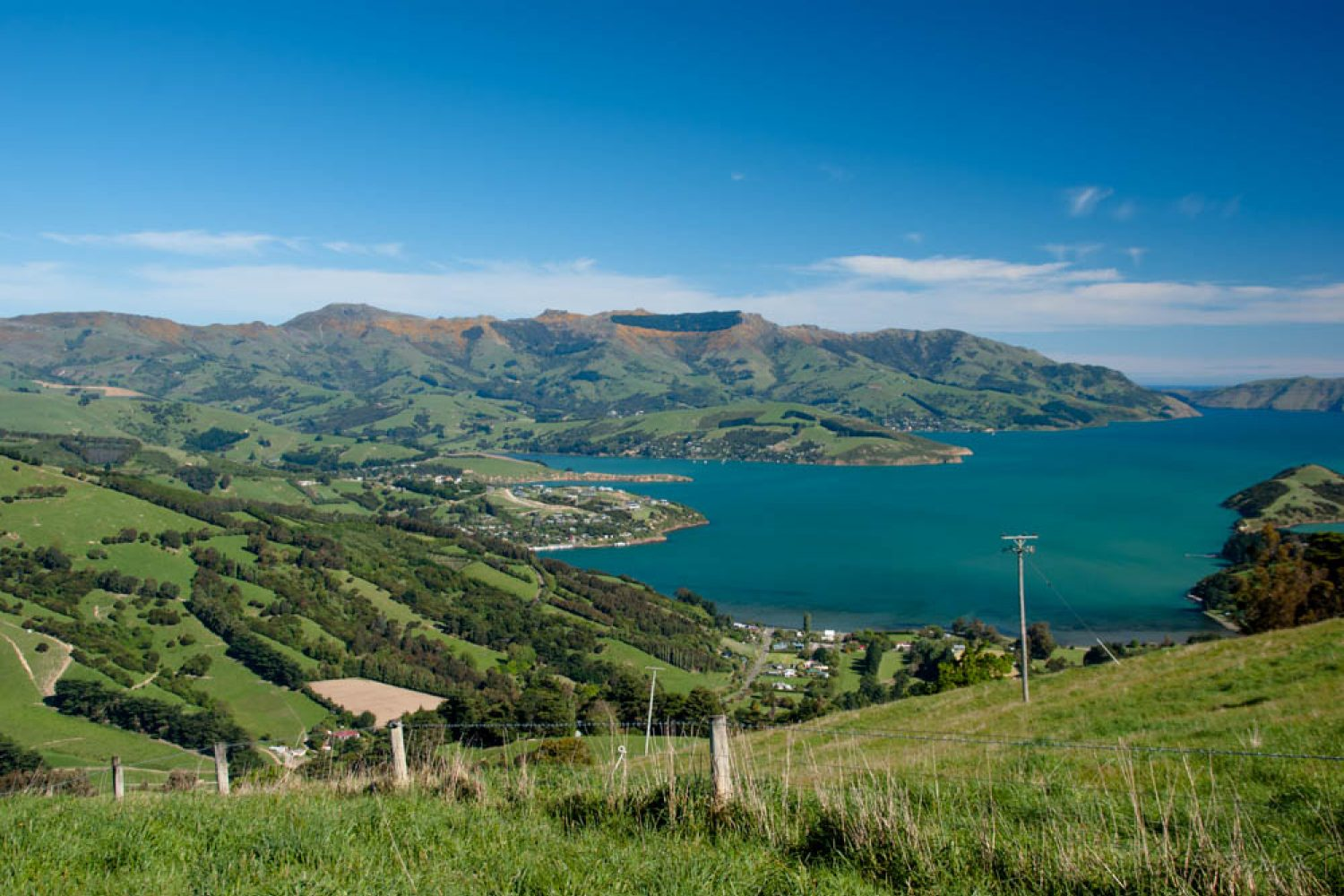 Banks Peninsula in Neuseeland