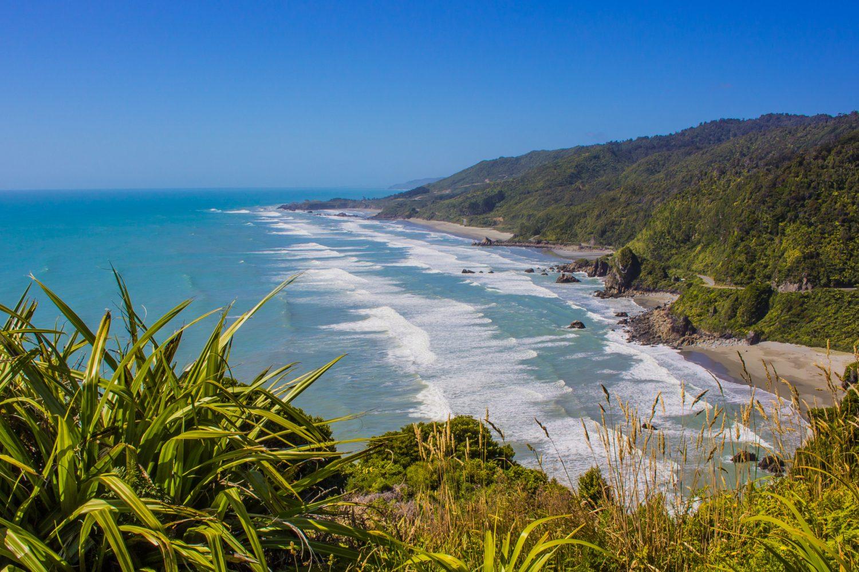 Westport aan de westkust van Nieuw-Zeeland