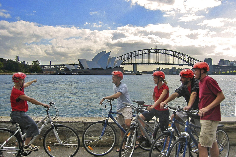 Radtour Sydney mit Bonza Bike Tours Morning Sydney Classic Tour am Macquarie Point