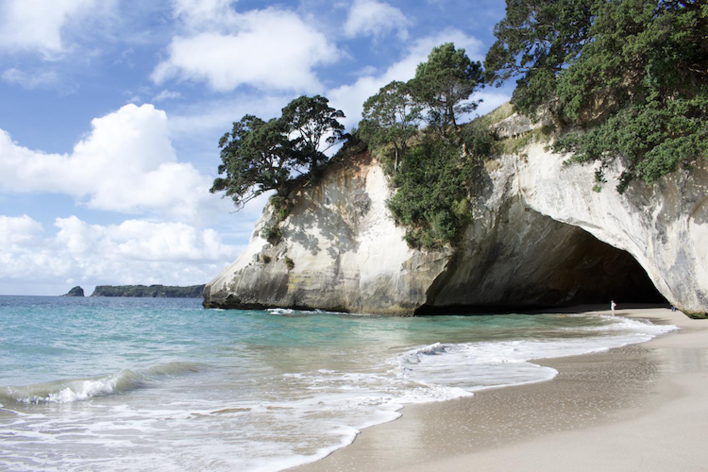 Coromandel Nordinsel Neuseeland: Cathedral Cove