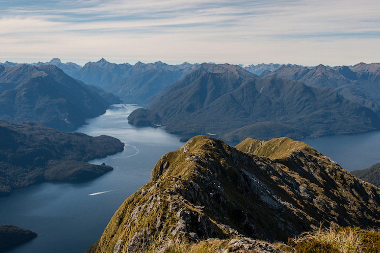 Doubtful Sound in Nieuw-Zeeland