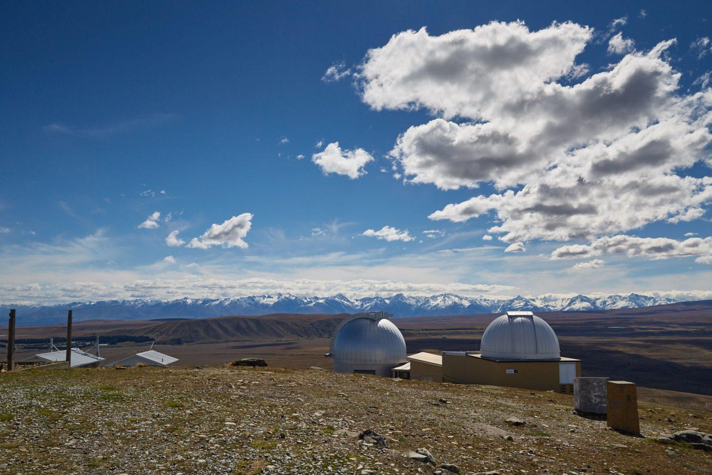 An klaren Nächten kann man die Sterne am anderen Ende der Welt vom Mount John Observatory aus bewundern.