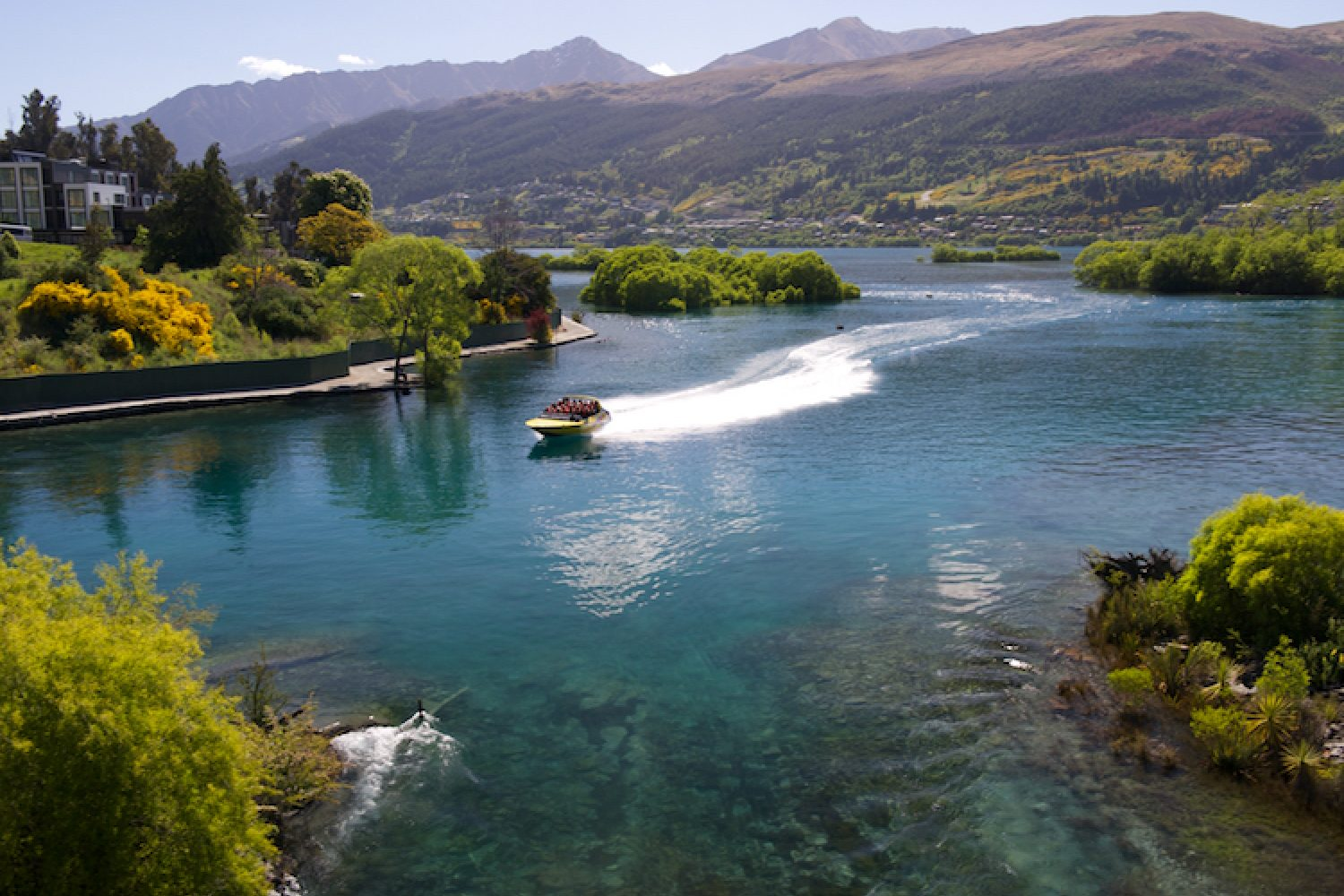 Queenstown am Lake Wakatipu