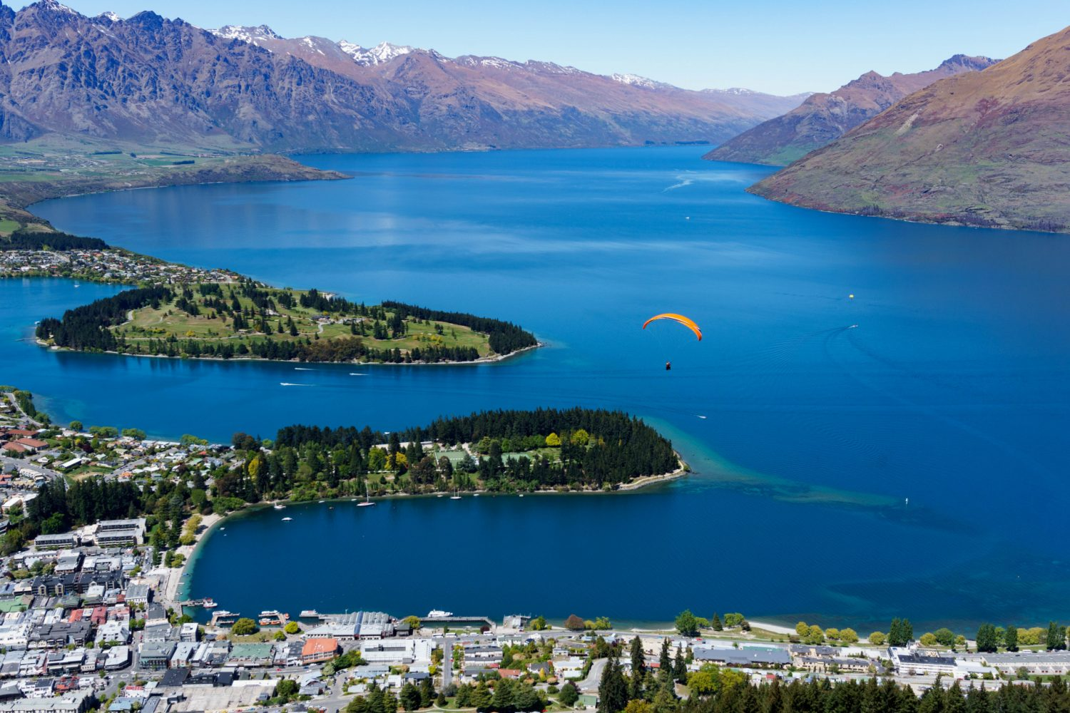 Neuseeland: Queenstown am Lake Wakatipu