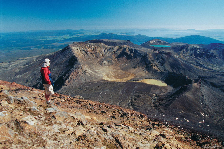 Neuseeland Rundreise Natur und Kultur: Tongariro Alpine Crossing