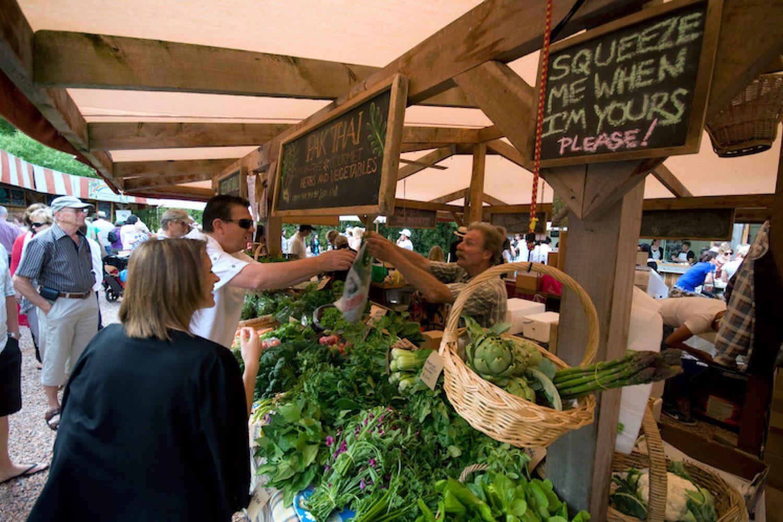 Markt in Matakana