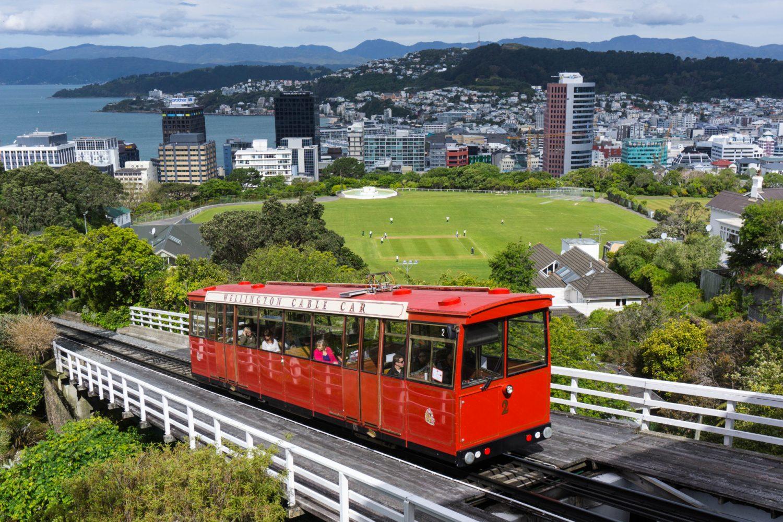 Wellington - Die rote Seilbahn