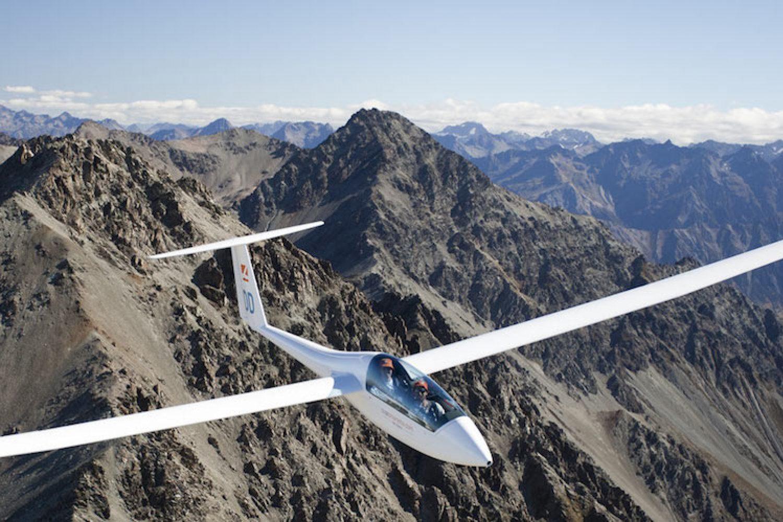 Een vlucht met een zweefvliegtuig in Omarama