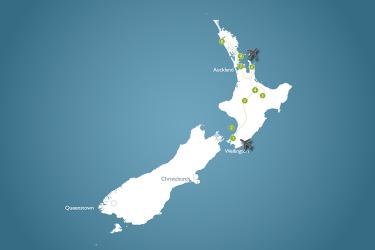 3-weekse individuele reis over het Noordereiland van Nieuw-Zeeland
