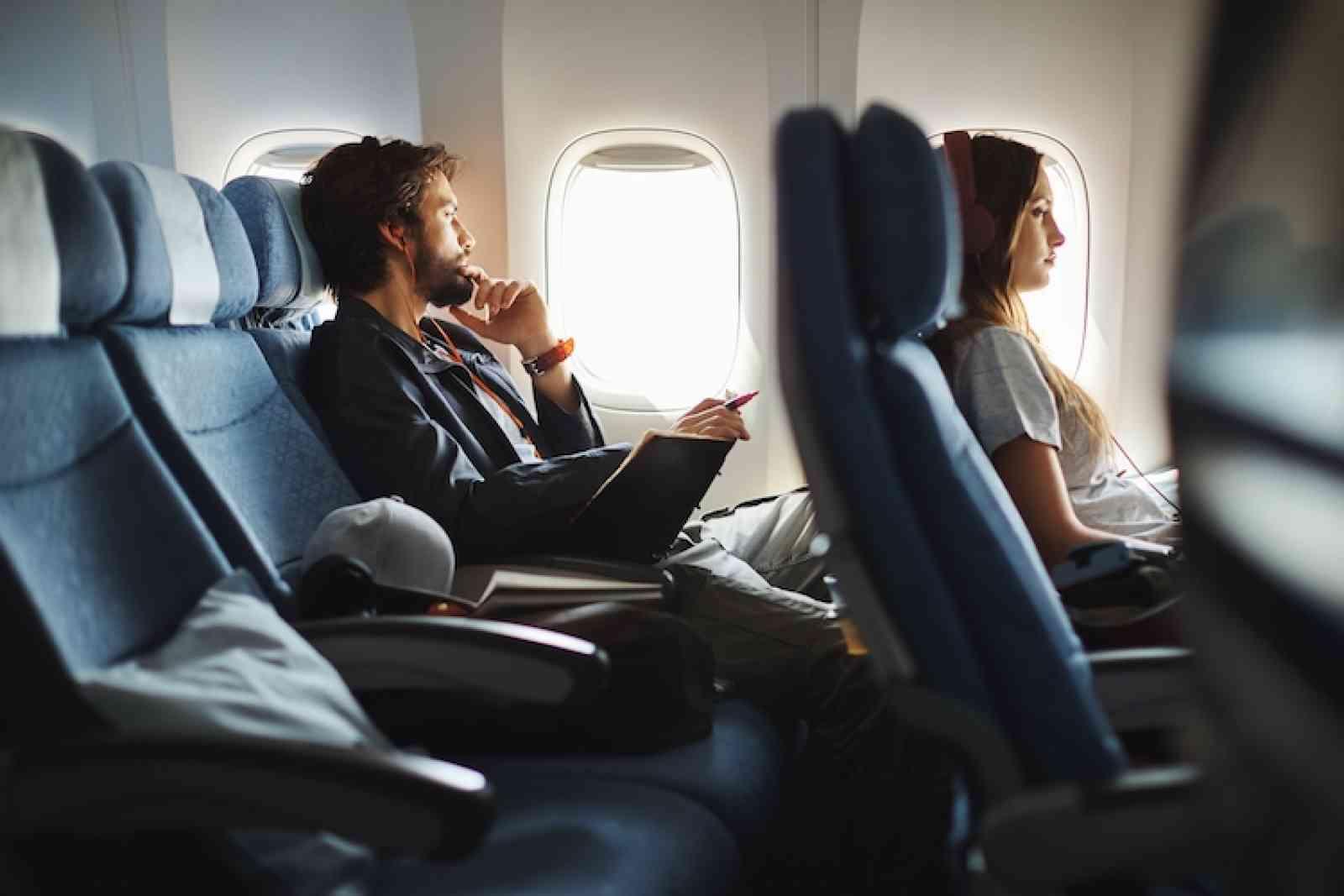 De stoelen van Cathay Pacific Economy Class